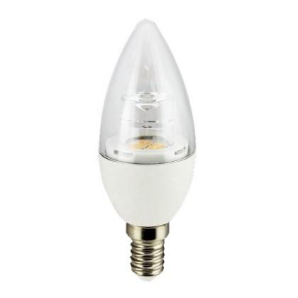LĂ¢mpada LED vela 5W 45° E14