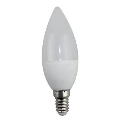 LĂ¢mpada LED vela 5W 270° E14