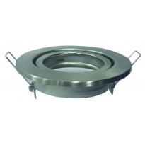 Aro Orientable para Dicroica redondo Plata GU10-MR16 Area-led - Iluminación LED