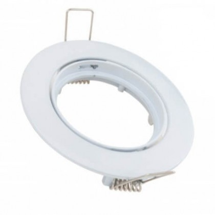 Aro orientable para Dicroica circular Blanco GU10-MR16 Area-led