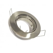 Aro orientable para Dicroica circular Acero Inox GU10-MR16 Area-led - Lamparas Y Bombillas Led