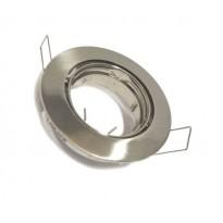 Aro orientable para Dicroica circular Acero Inox GU10-MR16 Area-led - Iluminación LED