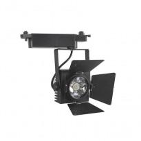 Foco LED 30W LUXY para Calha Monofasico 60º