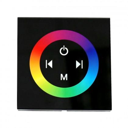 Controlador empotrable LED táctil RGB