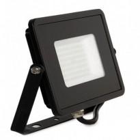 Foco projector LED exterior preto 50W IP65 ELEGANCE 3 anos de garantia