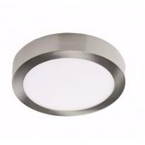 Plafond Aço LED 18W Superfície circular