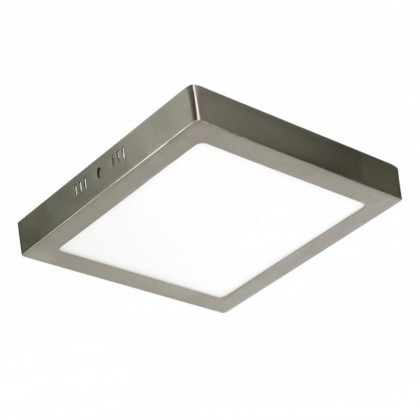 Plafon LED 18W Acero cuadrado Area-led