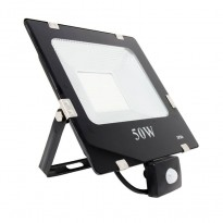 Foco Proyector LED 50W SMD con Detector de Movimiento Area-led - Jardim E Projetores De Led Ao Ar Livre