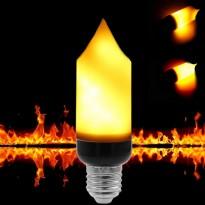 Bombilla LED 5W Efecto Llama E27
