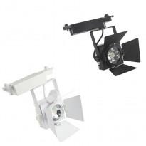 Foco LED LUXY 30W para Carril Monofásico 60º Area-led - Iluminación LED