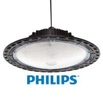 Campanula LED UFO 150W Philips SMD 3030 IP65 120Lm/W AreaLED - Iluminação Led Industrial