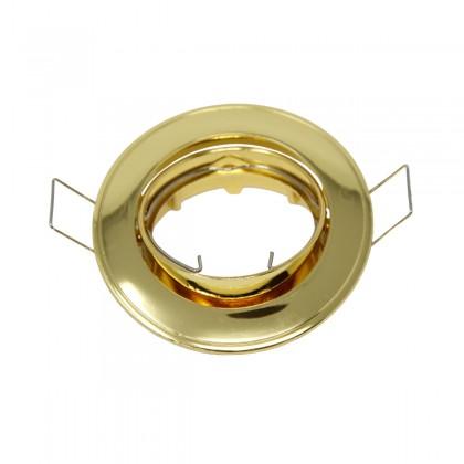 Aro dorado circular orientable para MR16-GU10 Area-led