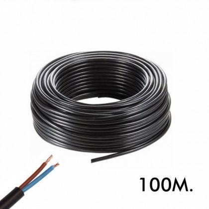 Manguera Flexible 2 Hilos 2x1mm 100Metros Area-led