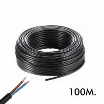 Mangueira Flexivel 2 Hilos 2x1mm 100Metros - Componentes Eletrônicos