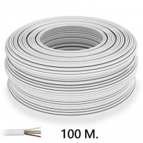 Cable Telefonillo (Tira RGB) 4 Hilos 100Metros Area-led