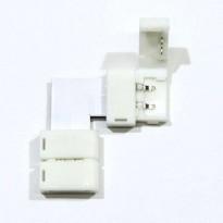 Conector de presión para tira LED monocromática angula Area-led