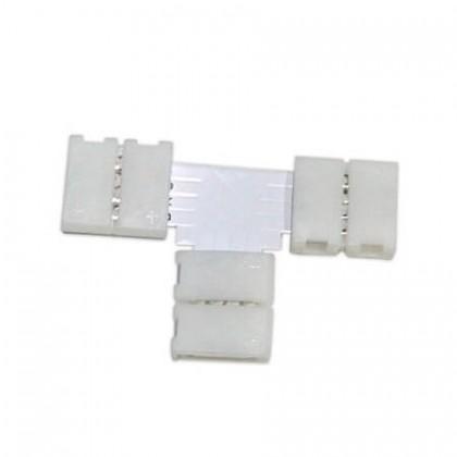 Conector de presión para tira LED monocromática en T Area-led