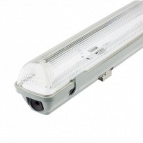 Pantalla estanca para un tubo de LED IP65 120cm Area-led - Tubos Y Pantallas Led