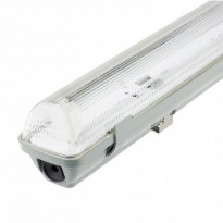 Pantalla estanca para un tubo de LED IP65 60cm Area-led - Tubos Y Pantallas Led