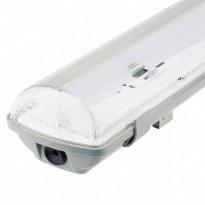 Pantalla estanca para dos tubos LED IP65 120cm Area-led - Iluminación LED