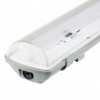 Armadura Estanque Duplo Tubo LED IP65 150 cm
