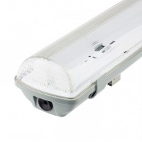 Pantalla estanca para dos tubos LED IP65 60cm Area-led