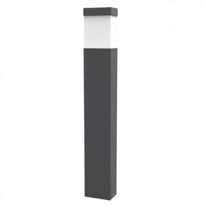 Baliza Retangular 65cm para LED E27 Exterior