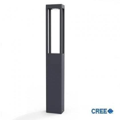 Baliza LED 10W CREE Rectangular 65cm Exterior Area-led