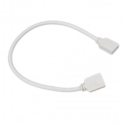 Conector fita LED RGB Branco