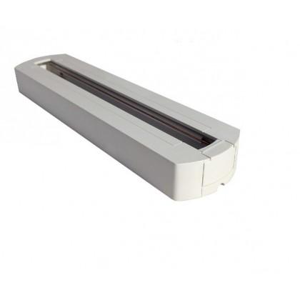 Base Branca para Foco LED de Carril