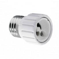 Casquilho Adaptador E27 a GU10 - Lamparas Y Bombillas Led