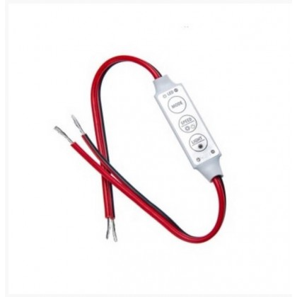 Mini Controlo Dimmer fita LED 12V