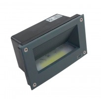 Baliza LED empotrable pared 3W IP65 Area-led - Señalizacion Led Y Emergencias Led