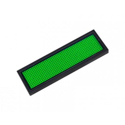 Microrótulo LED DC 3.6V Verde Area-led