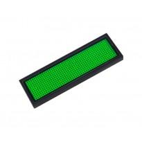 Microrótulo LED DC 3.6V Verde Area-led - Rotulos Electrónicos