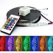 Pack Tira LED 14.4W RGB + Controladora + F. Alimentacíon Area-led - Tiras Led Y Neón Led