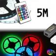 Pack Tira LED 14.4W RGB + Controladora + F. Alimentacíon Area-led