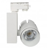 Foco LED 35W LARA WHITE para Carril TRIFASICO 24º Area-led