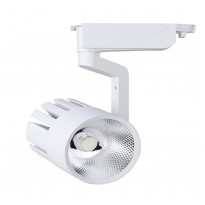 Foco LED 30W ROMA WHITE para Carril Monofásico 35º Area-led