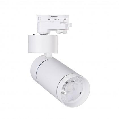 Foco LED 30W Limón Blanco para Carril Trifásico 24º Area-led