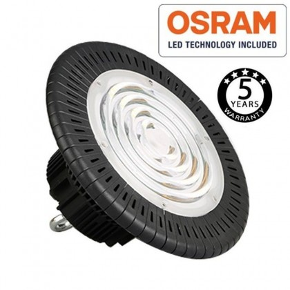 Campana industrial LED UFO 200W OSRAM chip 3030-2D 160lm/w IP65 Area-led