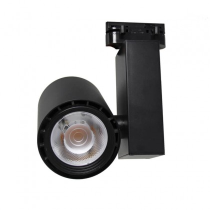Foco LED 40W BERLIN Negro para Carril Monofásico 24º Area-led