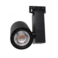 Foco LED 40W BERLIN Negro para Carril Monofásico 24º Area-led