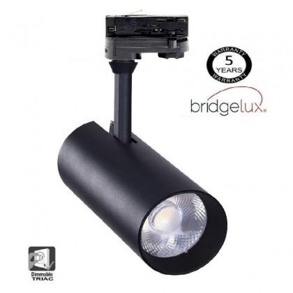 Foco LED 30W MAYA Negro TRIFASICO Dimmable DOB Driverless 24º Area-led