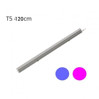 Regleta LED T5 18W 120º G13 Azul y Rosa Area-led