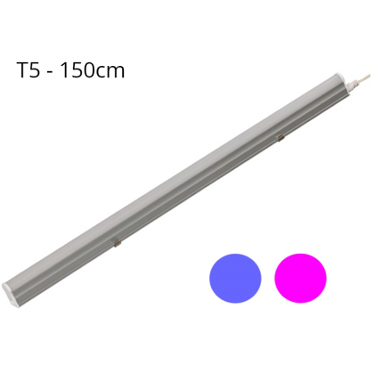 Regleta LED T5 23W 120º G13 Azul y Rosa Area-led