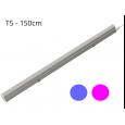 Regleta LED T5 23W 120º G13 Azul y Rosa Area-led