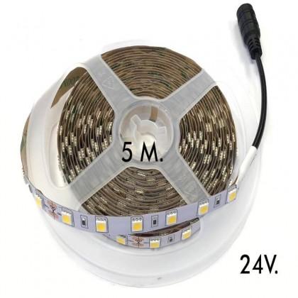 Fita LED Flexivle interior 16W*5m 5050 24V