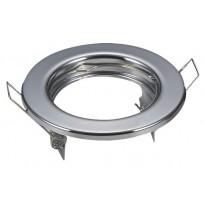 Aro prateado circular para dicroico LED GU10 - MR16 - Lamparas Y Bombillas Led