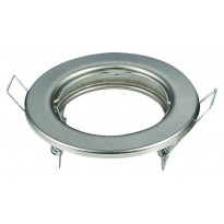 Aro plata envejecida circular para dicroica LED GU10 - MR16 Area-led - Lamparas Y Bombillas Led